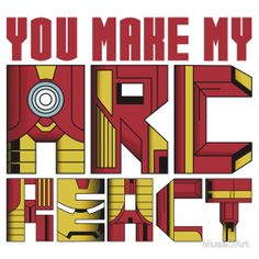Arc React 2 Available to buy on… T-Shirts & Hoodies Stickers #IronMan #Marvel
