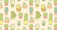 Cute Doodle Pattern | Pattern Download | The Design Inspiration