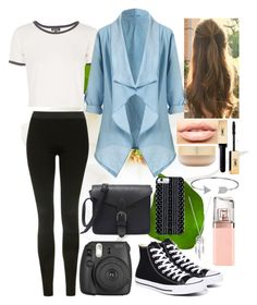 """Untitled #110"" by alison2000 ❤ liked on Polyvore featuring Topshop, Converse, MDMflow, Eve Lom, Savannah Hayes, Bling Jewelry, Lucky Brand and HUGO"