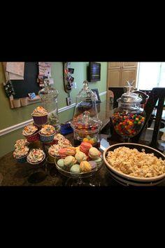 Sweets buffet. -Devlin Baked Goods