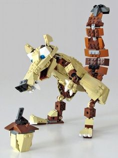 4884 Scrat the Squirrel: A LEGO® creation by Nathanael Kuipers : MOCpages.com
