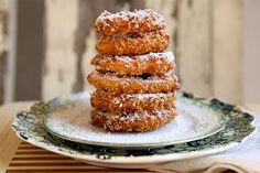 crispy apple donuts