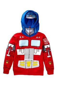 Transformers Optimus Prime Costume Hoodie on HauteLook