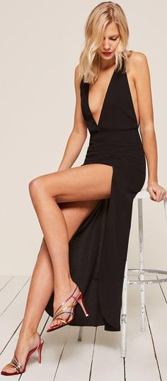 Christian Dior, Talons Sexy, Manhattan Apartment, Formal Wear, Bridal Dresses, Evening Dresses, Jumpsuit, Black Beauty, Blondes