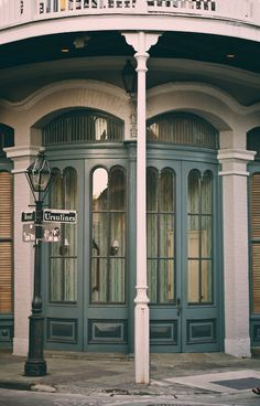 at Ursulines & Royal Streets in the New Orleans French Quarter