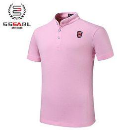 100% Cotton Mens Fashion Summer Short Sleeve Slim Fit Polo 10 colors
