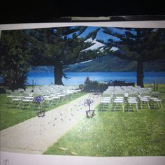Ceremony at Furneaux lodge, nz