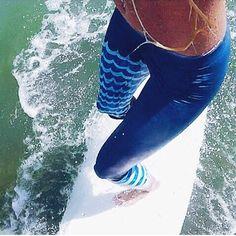 Wave Rider Surf Legging by SchatziBrown