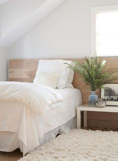 Adding a Small Flokati at the Bedside - Apartment Therapy Main