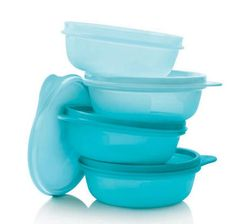 Tupperware Leftover Bowls (4 X 300ml) £ 17.15 // A set of four bowls from Tupperware. Perfect for freezing or refrigerating leftover food, minimizing waste in your home. via Tupperware UK