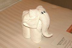 20 Cute Animal Towel Sculpture