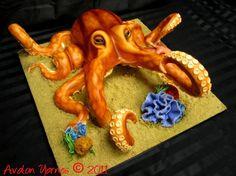OCTOPUS CAKE BY AVIE SWEET CAKES, VIA FLICKR