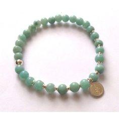 gohi Amazonit Beaded Bracelets, Jewelry, Fashion, Jewellery Making, Jewlery, Jewelery, Fashion Styles, Pearl Bracelets, Jewerly