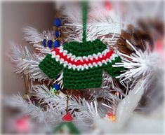 Ravelry: Crochet Sweater Ornament pattern by Jessica Spencer