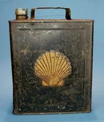 vintage shell oil