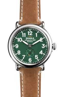 Shinola watches, made in Detroit
