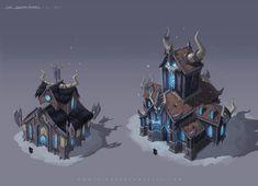 Un artiste imagine un fief destiné aux Chevaliers de la mort