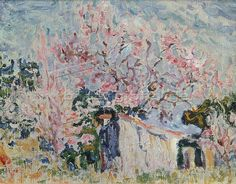 File:'Spring in Provence' by Paul Signac, oil on canvas, Pushkin Museum. Impressionist Landscape, Post Impressionism, Landscape Paintings, Provence, Paul Signac, Spring Landscape, Winter Scenery, Museum Of Fine Arts, Vincent Van Gogh