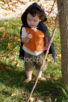Perfect costume for a child's first big Halloween! Any future children shall be Hobbits.