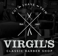 barber shop logo…