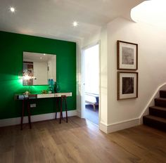 Another Honky apartment - desire to inspire - desiretoinspire.net - emerald green wall