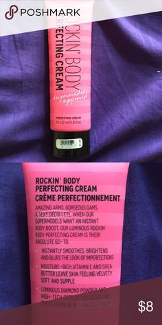 Rockin' Body Perfecting Cream- Victoria's Secret Perfecting cream, 4.8 oz. Only used once. Instantly smooths, brightens appearance and moisturizes! Victoria's Secret Other