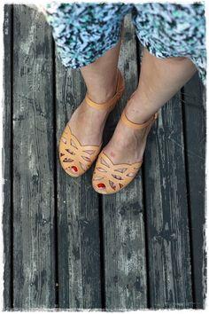 Camilla Mikama shorts and Swedish Hasbeens sandals - Kaunis päivä | Lily.fi