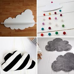 DIY for kids: Clouds! (Fun sewing project for Anais!)