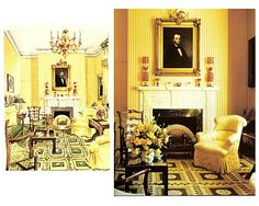Mark Hampton: his design for Lincoln bedroom at Blair House in D.C.