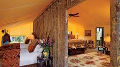 Montana Glamping - Pinnacle Camp at The Resort at Paws Up