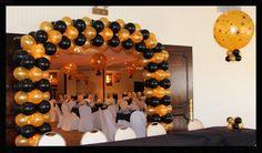 Graduations and School Decor — Elegant Balloons Sweet 16 Decorations, School Decorations, Balloon Decorations, Balloons, Graduation, Elegant, Classy, Globes, Balloon