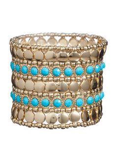 Gorgeous Turquoise cuff