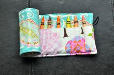 Blue Paisley Crayon Cozy/Roll Including by SpoonerSistersDesign, $15.00 Sunglasses Case, Paisley, Rolls, Felt, Cozy, Gift Ideas, Trending Outfits, Unique Jewelry, Handmade Gifts