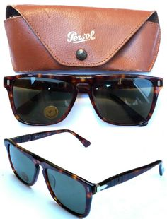 f7f8d0663d152 Persol Ratti 93 1644 Sunglasses VINTAGE 1980s by SonnyCrockettShop Persol