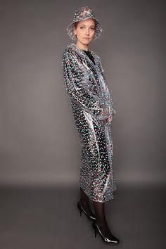 Raincoats For Women Long Sleeve Vinyl Raincoat, Blue Raincoat, Pvc Raincoat, Plastic Raincoat, Imper Pvc, Raincoats For Women, Kawaii, Rain Wear, Everyday Fashion