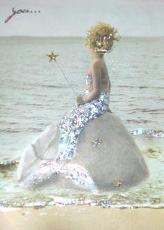 love this little mermaid card!