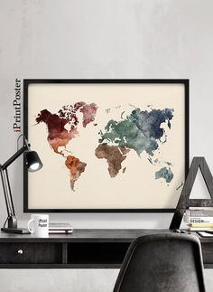 How to draw map of world for how to draw a world map diy me tee wanderlust world map poster world map art print wall art map of the world large world map iprintposter gumiabroncs Choice Image