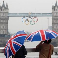 British weather on London Olympic Games 2012