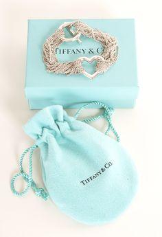 TIFFANY & CO. Heart Toggle Mesh Bracelet <3