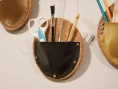DIY: Kork-Wandutensilos selber machen - Wohnen + Leben bei DaWanda