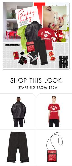 """""""Pretty baby"""" by undici ❤ liked on Polyvore featuring Therapy, Vetements, Pussycat, Junya Watanabe, Balenciaga and Y-3"""