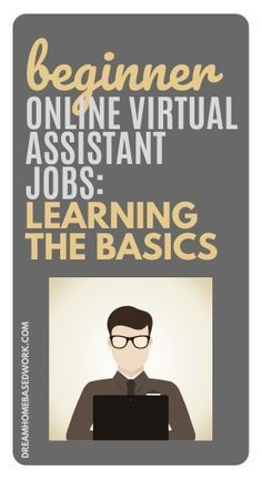 The reality is that the demand for virtual assistants has been increasing a lot in the last years but the work of a virtual assistant isn't limited to being executive assistants unlike what you may think. Here is all you need to know to get started! Become a virtual assistant today! #virtualassistant #workathome #onlinejobs Online Assistant, Virtual Assistant Jobs, Earn Money Online Fast, Earn Money From Home, Work From Home Companies, Work From Home Jobs, Home Based Work, Customer Service Jobs, Virtual Jobs