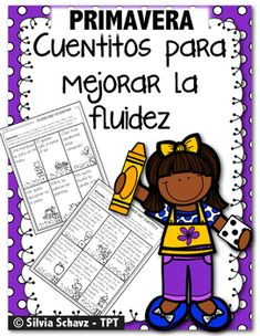 Dual Language Classroom, Bilingual Classroom, Bilingual Education, Spanish Classroom, First Grade Reading Comprehension, Reading Fluency, Guided Reading, Spanish Lessons For Kids, Spanish Teaching Resources