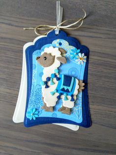 Christmas Tag, Christmas Ornaments, Marianne Design Cards, Animal Cards, Card Sketches, Llamas, Baby Cards, Cute Cards, Making Ideas