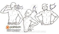male body reference