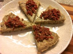 Chickpea bread with sunflower seed spread - Joyous Health