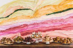 Whimsical dessert bar