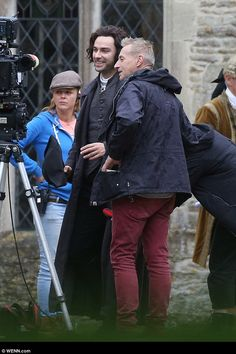Poldark S4 filming: Aidan Turner