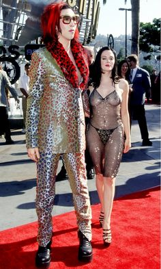 The Most Naked Red Carpet Looks Of All Time via @Who What Wear, 1998 MTV Video Music Awards.  Ahh, those were the days....