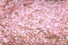 pink glitter is the prettiest thing in the universe. I've decided.